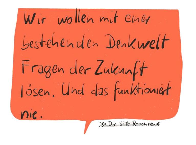 """Michael Buttgereit, Positionierungsdesigner, Gute Botschafter GmbH, in: """"DIE STILLE REVOLUTION"""""""